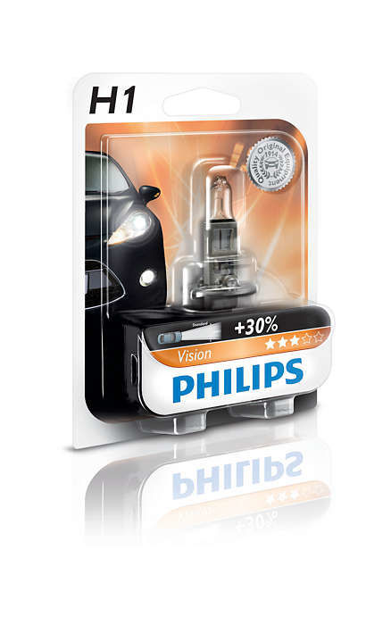 Philips H1 Vision, Autožárovka