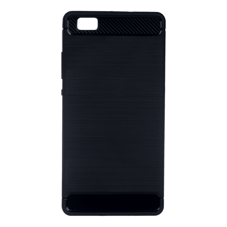 Winner Huawei P8 Lite Carbon černé pouzdro na mobil