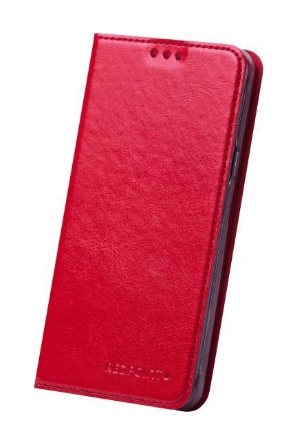 RedPoint Slim Book pouzdro pre Huawei Y6 Pro červená