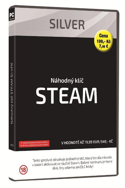 Steam Silver náhodný klíč k PC hre