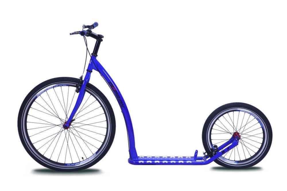 OLPRAN A7, Koloběžka, modrá