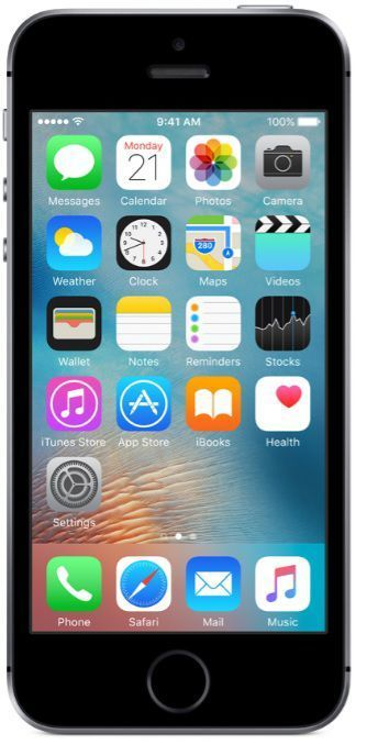 Apple iPhone SE 32GB vesmírně šedý