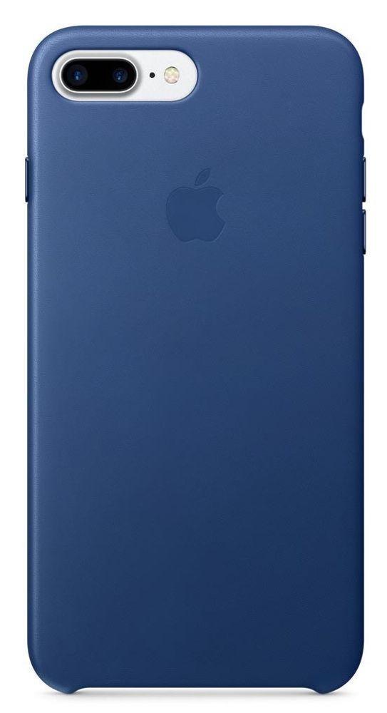 Apple iPhone 7+ Sapphire modré kožené pouzdro