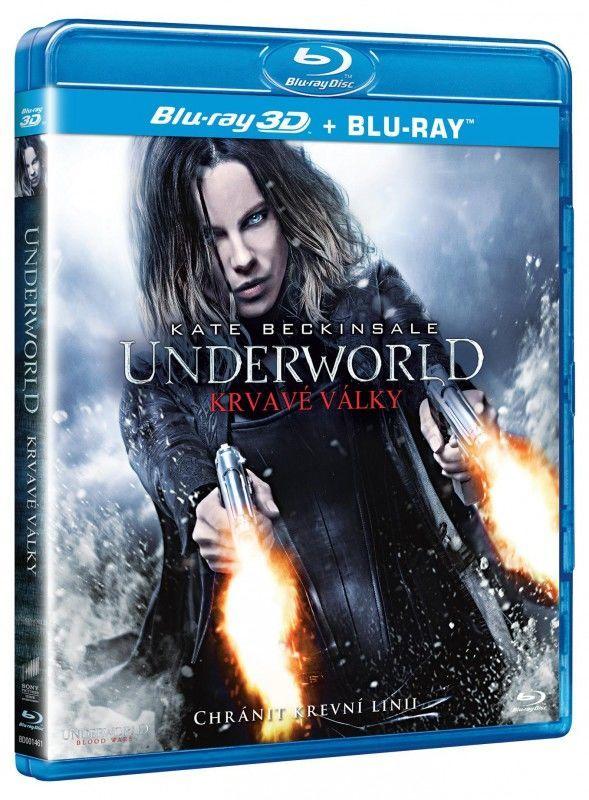 Underworld: Krvavé války - 2xBD (Blu-ray + Blu-ray 3D film)