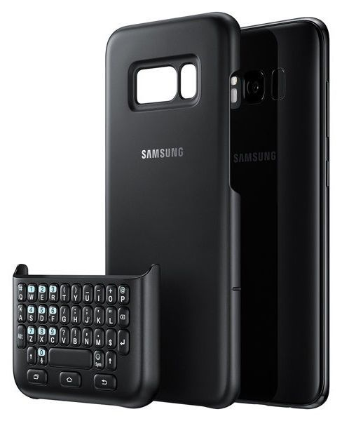 Samsung Galaxy S8 Keyboard Cover QWERTY černý