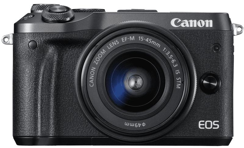 Canon EOS M6 + EF-M 15-45 f/3,5-6,3 IS STM černý