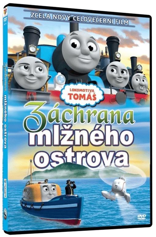 Lokomotiva Tomáš: Záchrana z Mlžného ostrova - DVD film