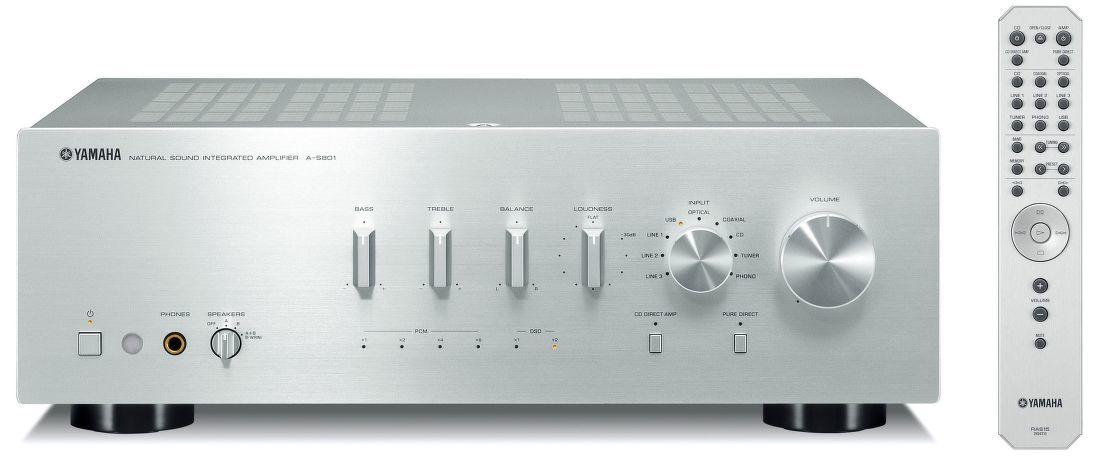 Yamaha A-S801 stříbrný