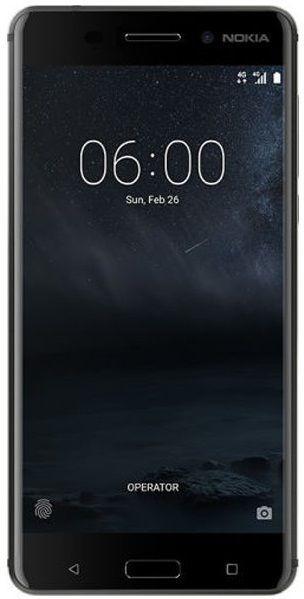 Nokia 6 Dual SIM černý