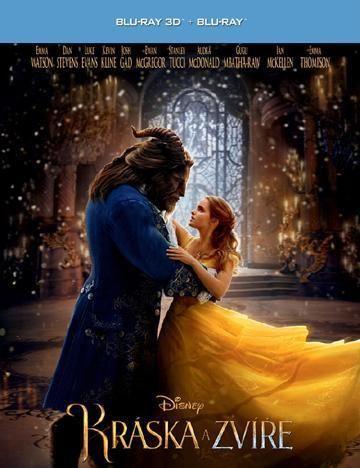 Kráska a zvíře - Blu-ray film - 3D+2D