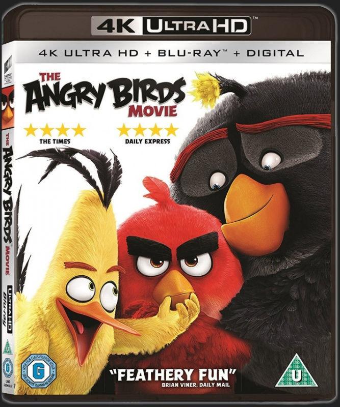 Angry Birds - 2xBD (Blu-ray + 4K UHD film)