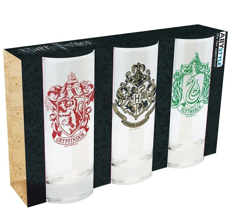 Magic Box Harry Potter set skleniček 3 ks