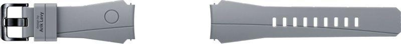 SAMSUNG Gear S3 šedý silikonový řemínek