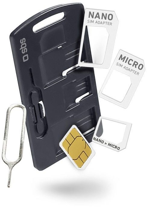 SBS STD/Nano/Micro sada SIM adaptérů