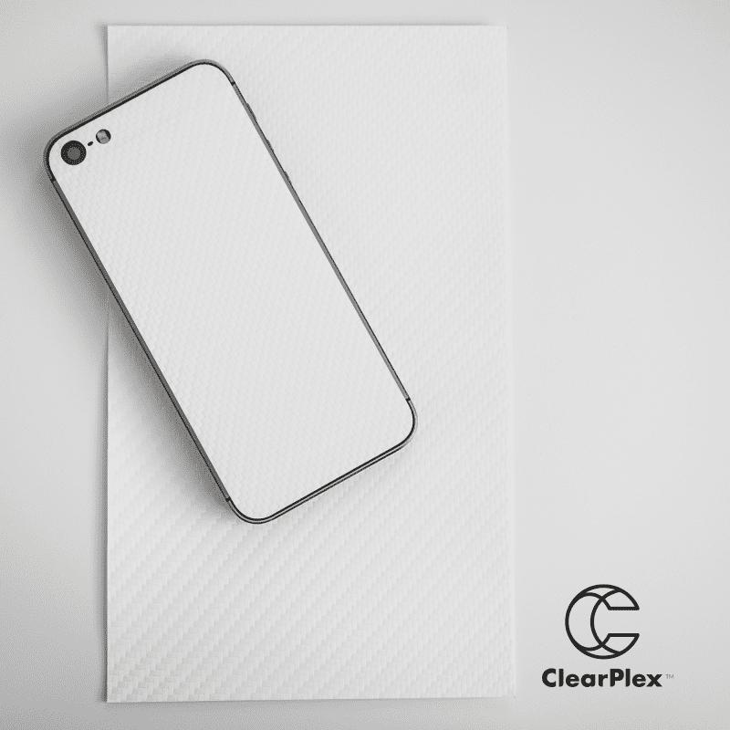 Clearview ClearPlex Carbon krycí fólie, bílá