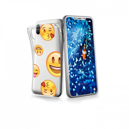 SBS Emoticon Dream Cover iPhone X transparentní