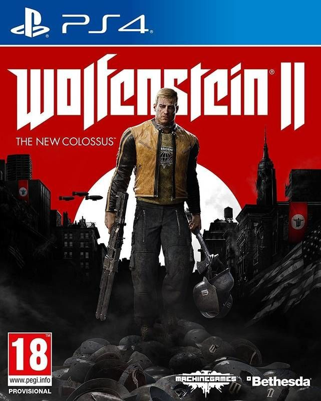 Wolfenstein II: The New Colossus - PS4 hra