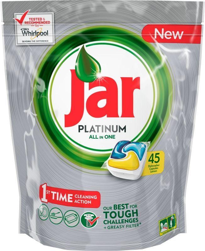 Jar Platinum 45ks tablety do myčky nádobí