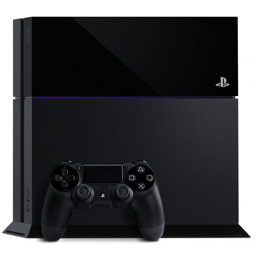 Sony Playstation 4 500GB + dárek SpeedLink JAZZ USB Charger - Nabíječka pro ovladač, Speedlink Legatos Stereo Headset pro PS4 (černo-červená) zdarma