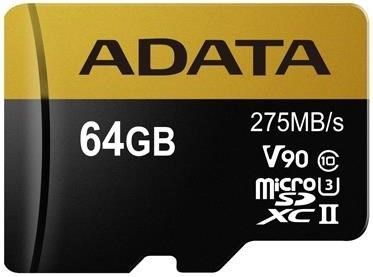 ADATA Premier One microSDXC 64GB UHS-II U3