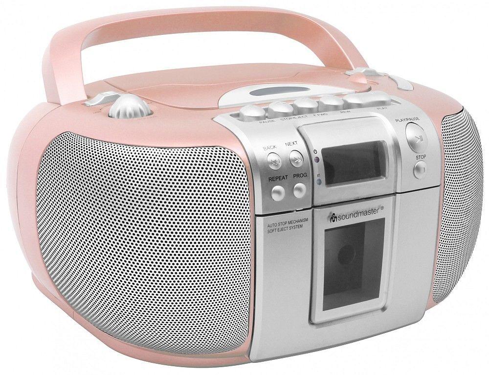 Soundmaster SCD5406PI růžové
