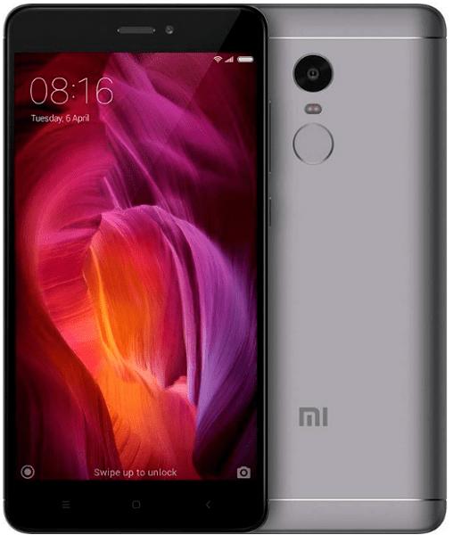 Xiaomi Redmi Note 4 4GB/64GB Dual SIM, šedá