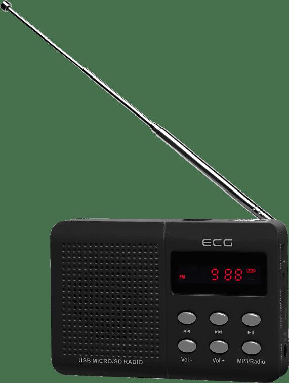 ECG R 155 U černé