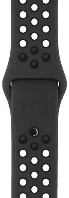 Apple Watch 42mm Nike Sport antracitový/černý řemínek