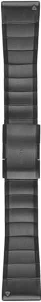 Garmin QuickFit 26mm ocelový řemínek pro Fenix 3/5X, šedá