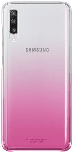 Samsung Gradation Cover zadní kryt pro Samsung Galaxy A70, růžová
