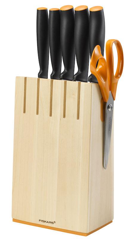 Fiskars Functional Form Blok kuchyňské nože (5ks)