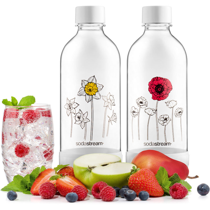SodaStream Jet Květiny v zimě náhradní láhve (1l/2ks)