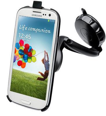 Celly držák na sklo FlexGo pro Samsung Galaxy S4
