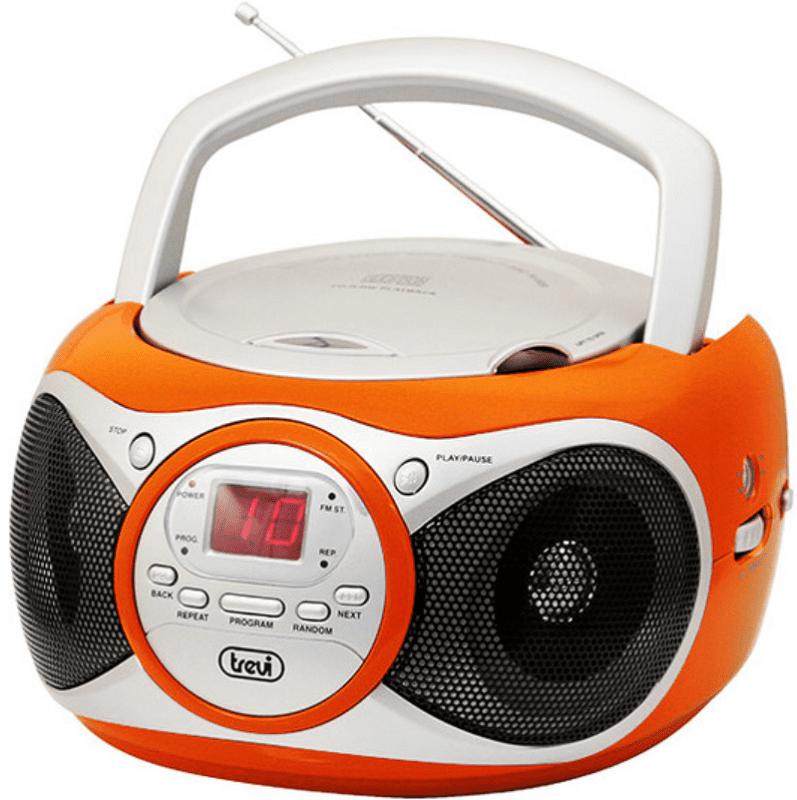 Trevi CD 512 oranžovo-stříbrný