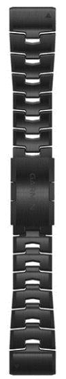 Garmin QuickFit 26mm titanový řemínek pro Fénix 6X, tmavě šedý