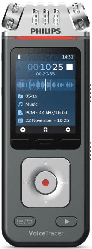 Philips DVT7110 černo-stříbrný