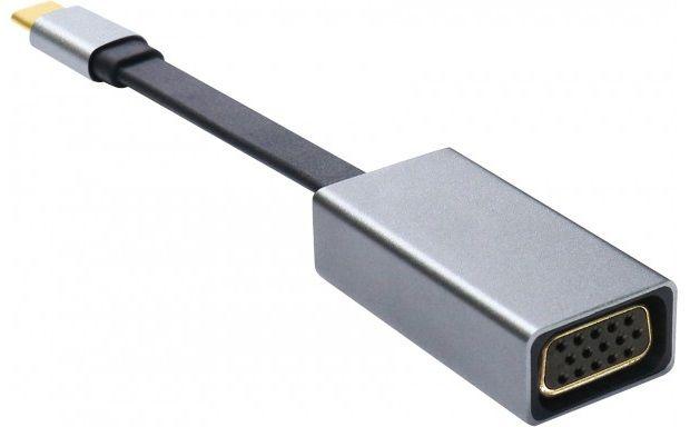Platinet PMMA9089 adaptér USB-C na VGA