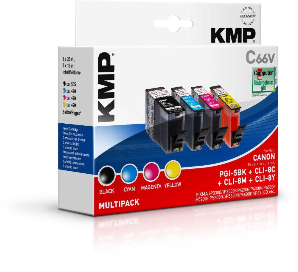 KMP C66V komp.recykl.náplň PGI5Bk, CLI8