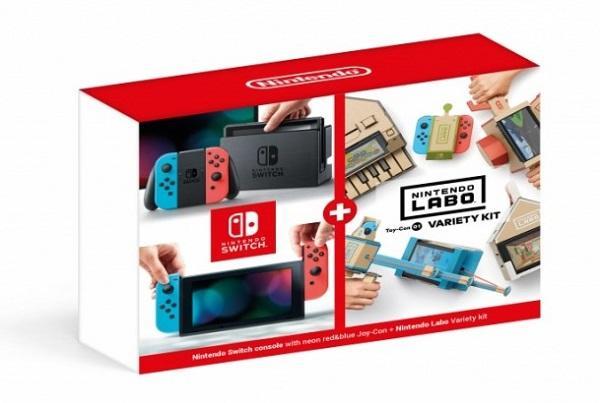 Nintendo Switch Neon + Nintendo Labo Variety kit (NSH072)
