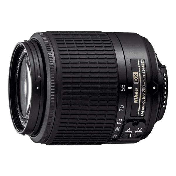 Nikon AF-S 55-200 mm f/4-5.6 AF-S VR - objektiv