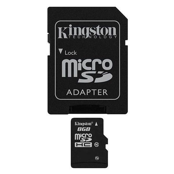 Kingston 8GB MIKRO SDHC Card Class 10 - paměťová karta