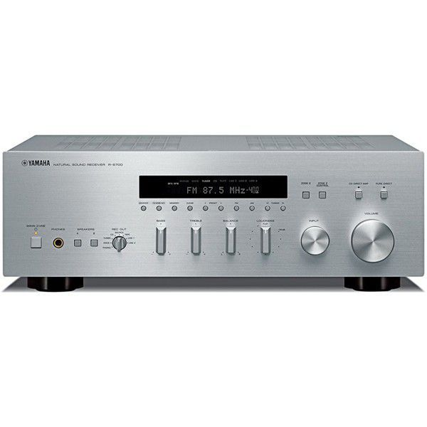 yamaha r s700 st brn stereo receiver. Black Bedroom Furniture Sets. Home Design Ideas