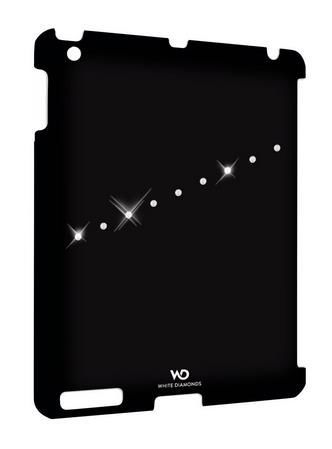 WHITE DIAMONDS Sash black iPad