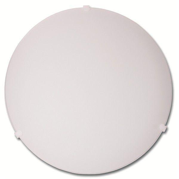 Ecoplanet W20-BI stropní plastové svítidlo 25cm (bílé)