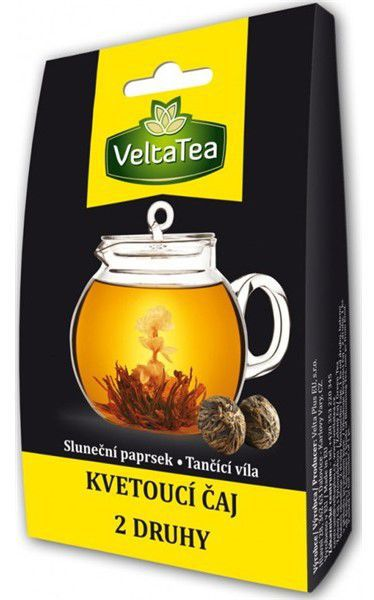 VELTATEA Kvetoucí čaj MIX Žlutý 2x6g, caj