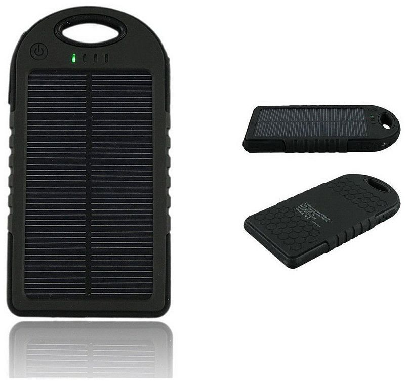 Vega AA-950 solární Powerbanka 5.000 mAh (černá)
