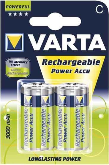 Varta Power Accu - C, 3000 mAh, 2ks