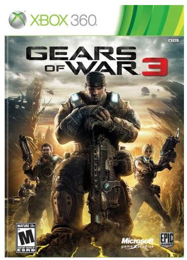 Gears of War 3 - hra pro X360