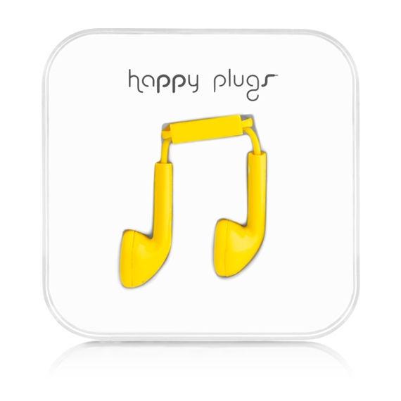 Happy Plugs Earbud 7706 (žlutá)