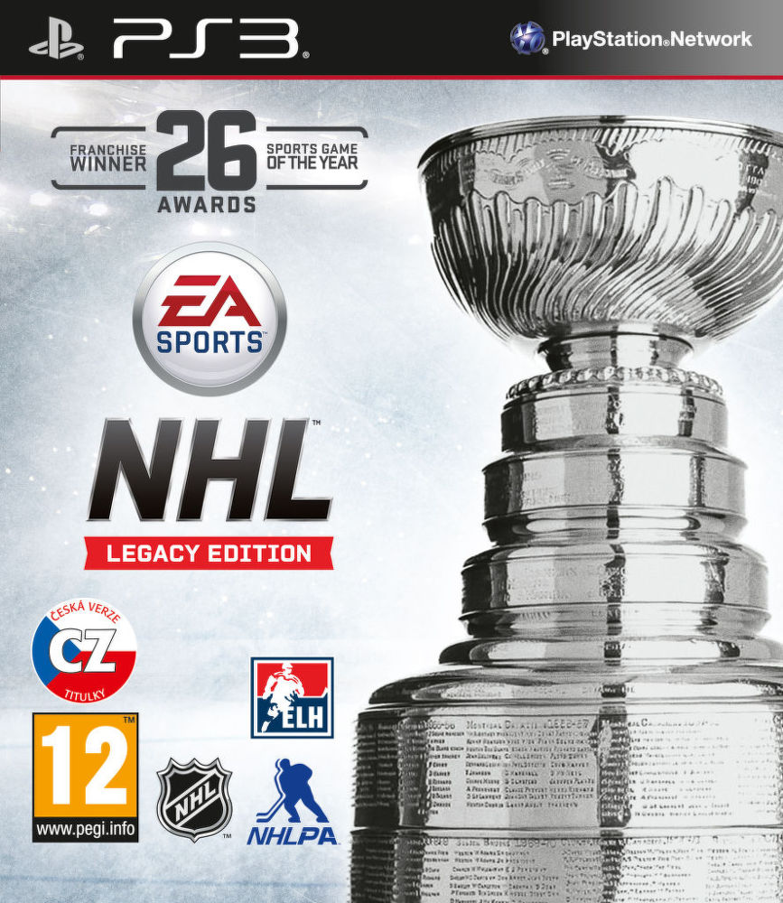 NHL 16 Legacy Edition - hra pro PS3